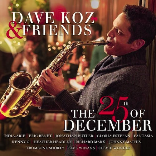 Dave Koz-The 25th of December_cover