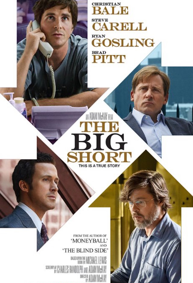 The Big Short_879551232_Brad Pitt, Christian Bale, Steve Carell and Ryan Gosling in The Big Short (2015)