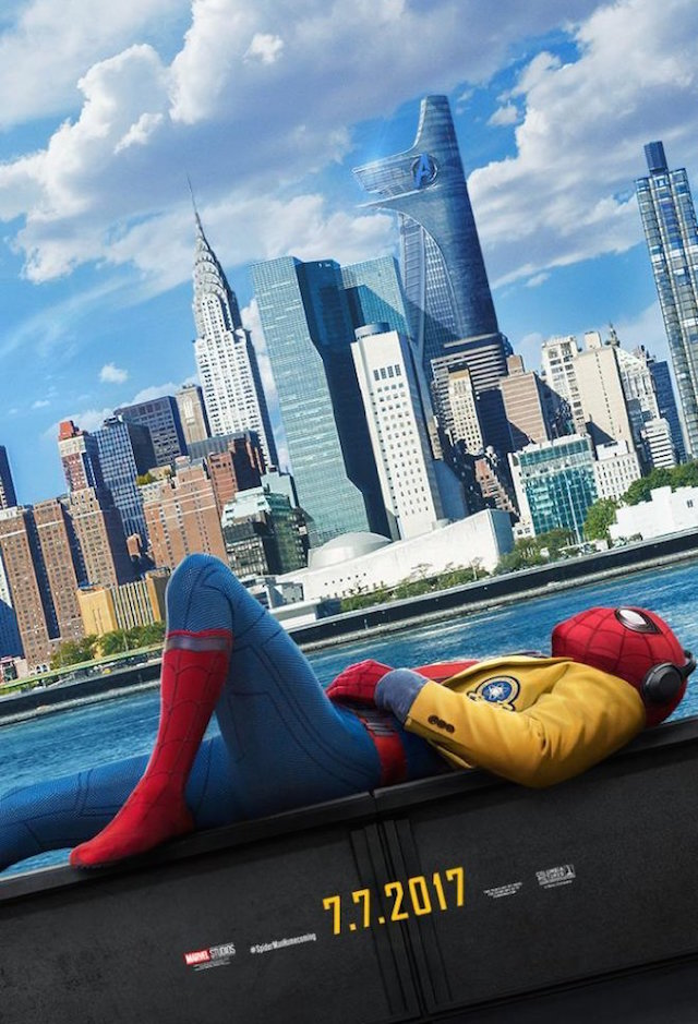 SPIDERMAN HOMECOMING_poster 2017
