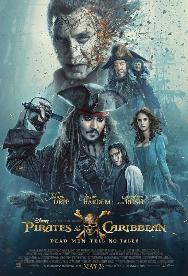 Pirates of the Caribbean Dead Men Tell no Tales_poster_2017