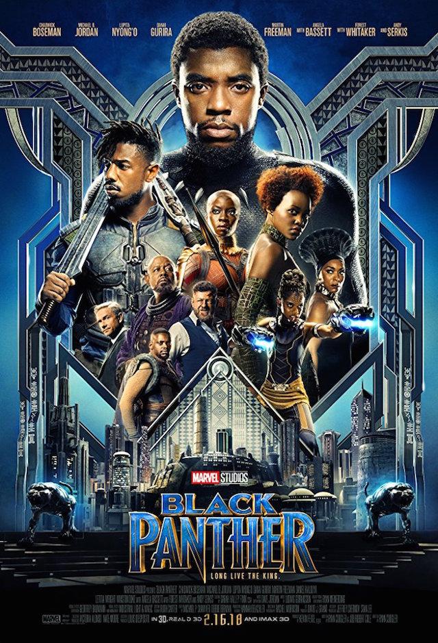 BLACK PANTHER_poster 2018