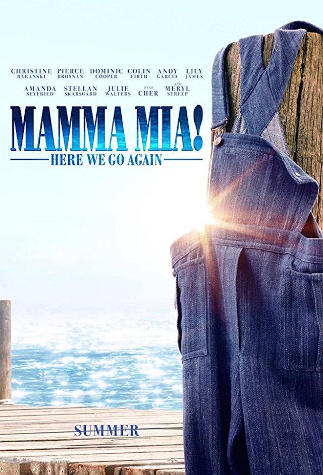 MAMMA MIA 2_poster 2018
