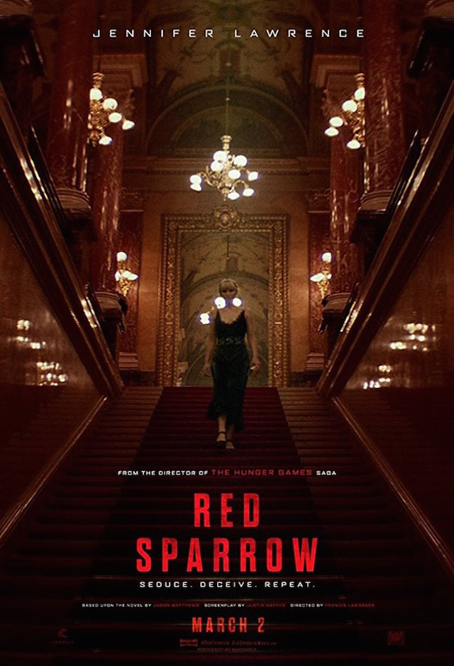 RED SPARROW_poster 2018